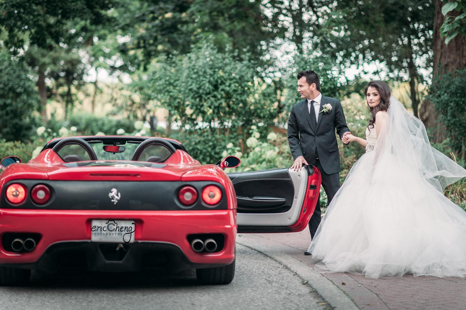 adamson-estate-wedding-ferarri