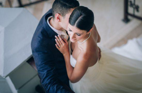 Destination Wedding at Playa Del Carmen creative portrait
