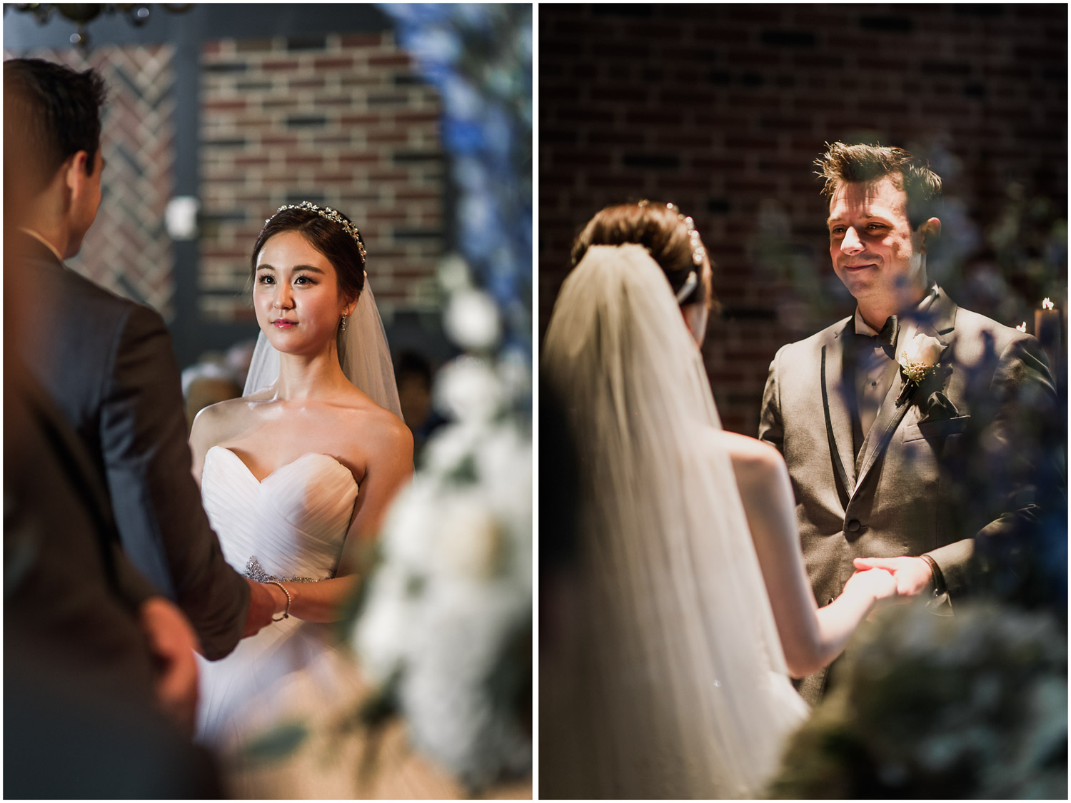 Old Mill Chapel Ceremony Vow exchange