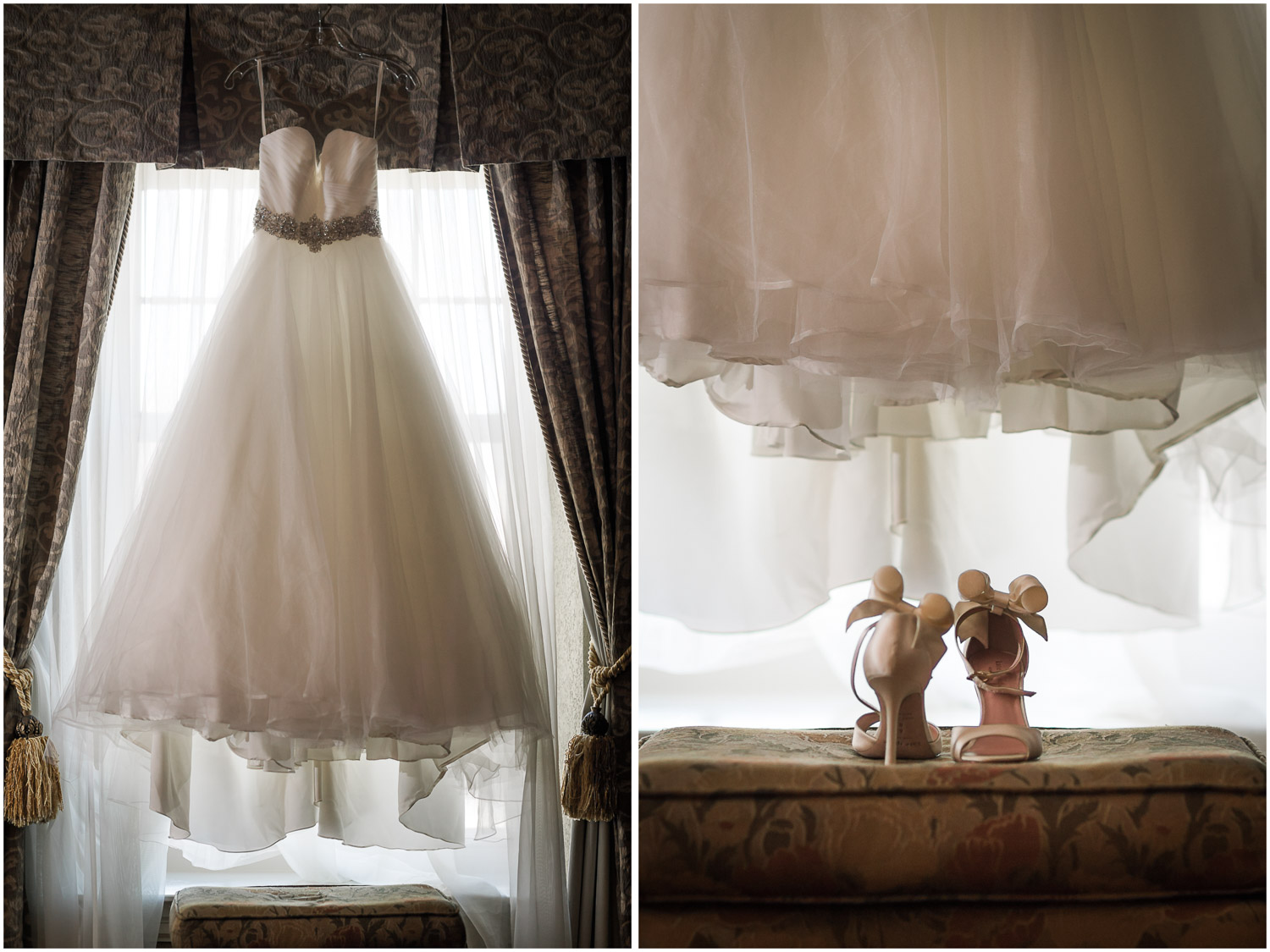 Old Mill Bridal Suite details