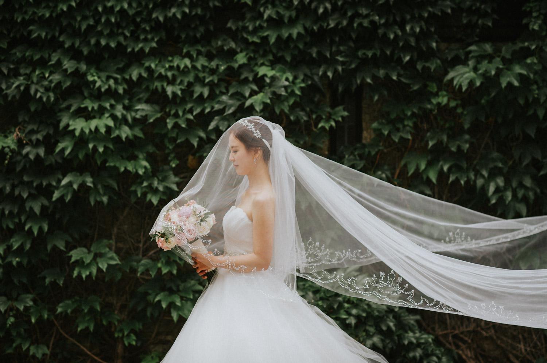 Toronto Old Mill Wedding bridal portrait