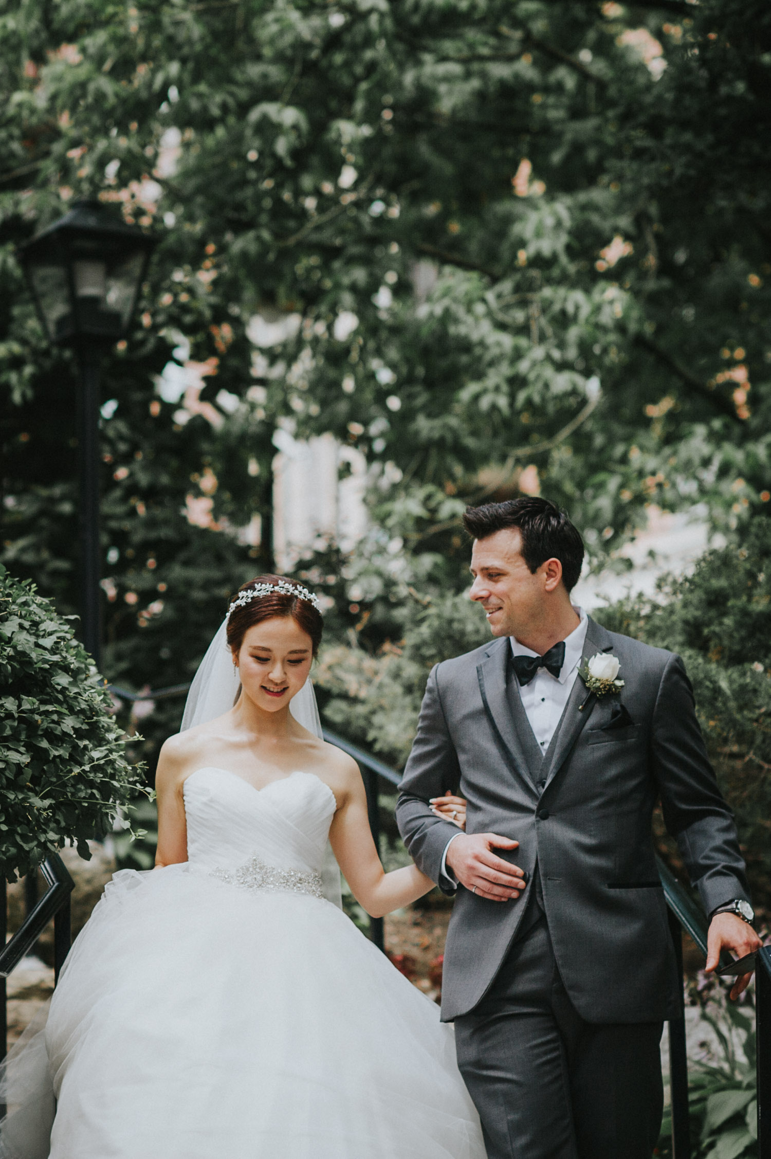 Toronto Old Mill Wedding photo newly wed