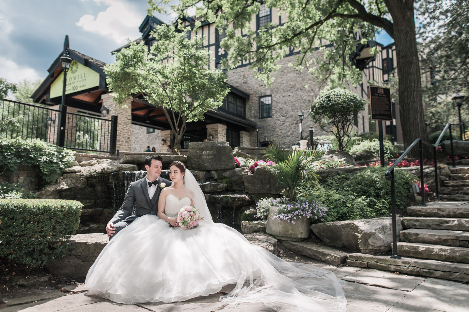 Toronto Old Mill Wedding photo