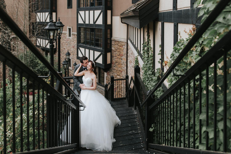 Old Mill Wedding Portrait