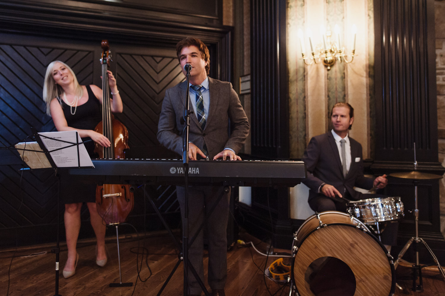 Live performance at a wedding in Old Mill Toronto from Brent Miller Live
