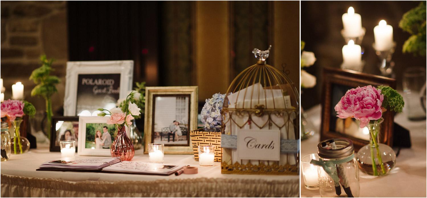Toronto Old Mill wedding table decor