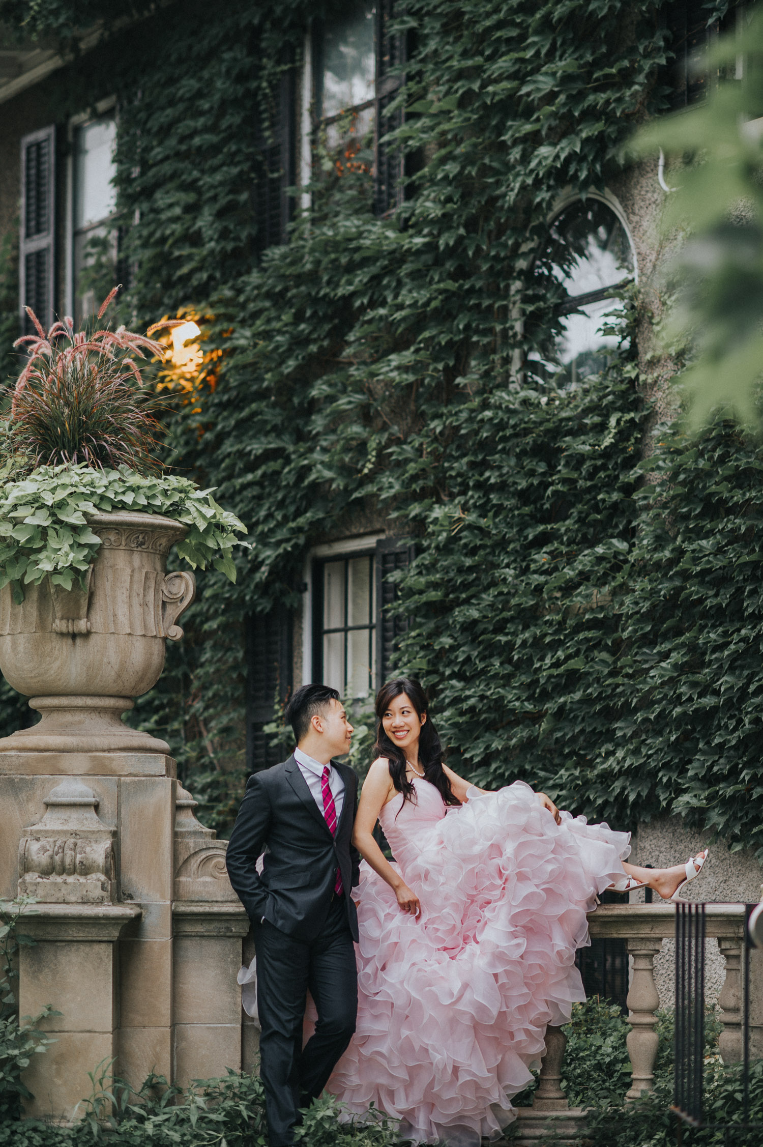 Toronto Prewedding photo Glendon Campus