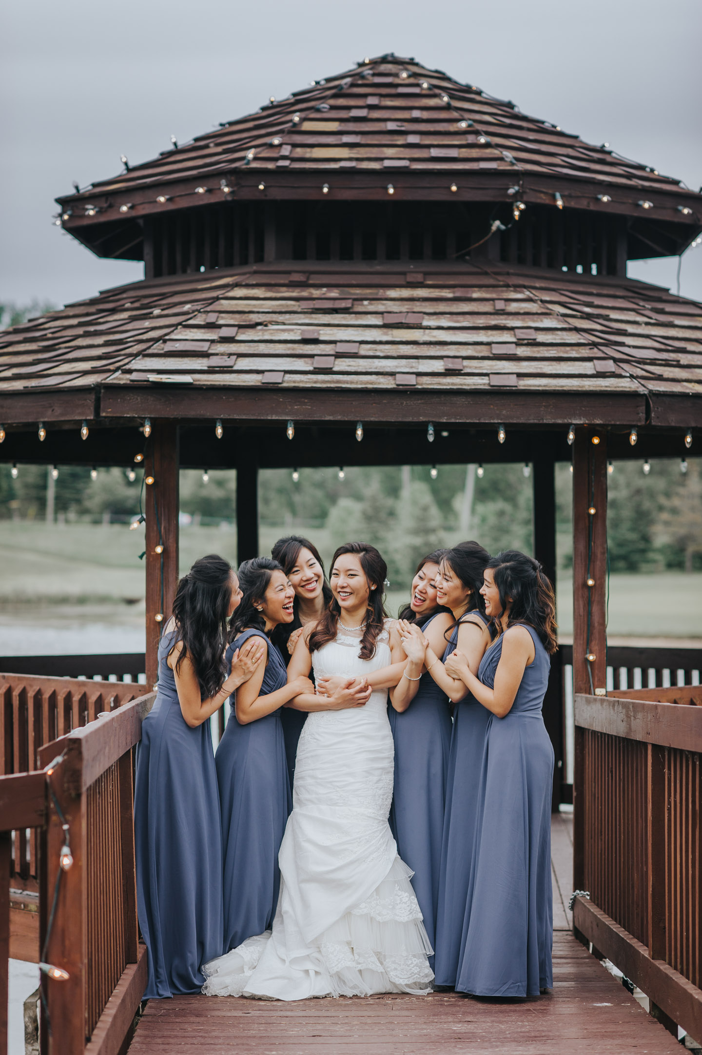 Bridesmaids Wedding photo the Manor PeterandPaul