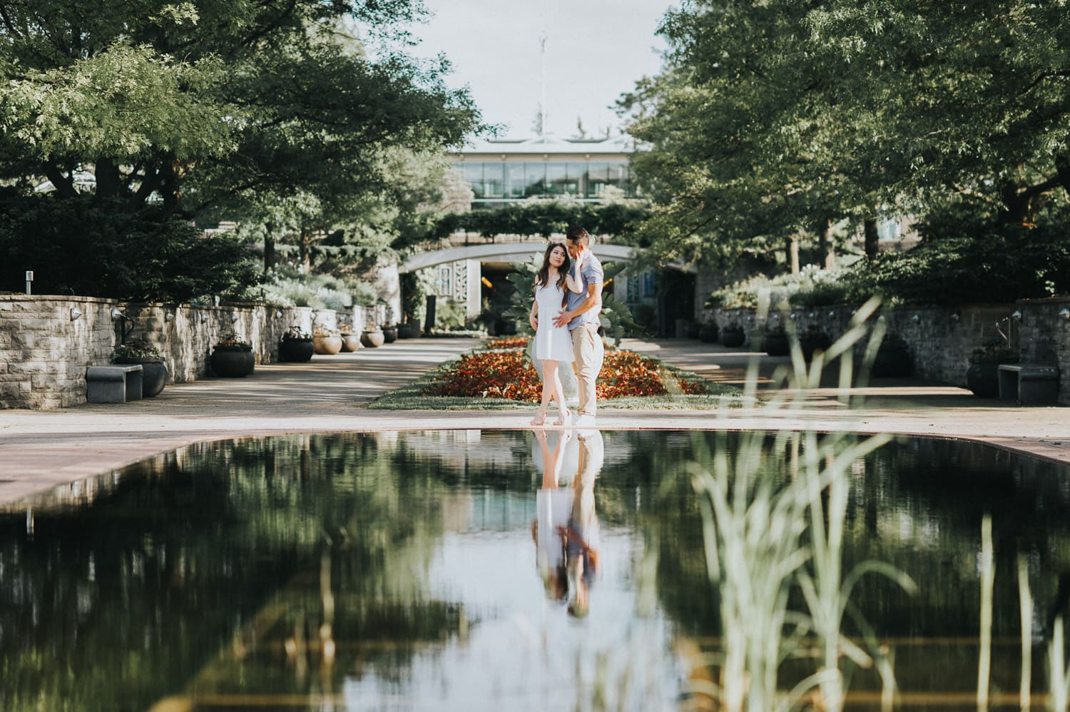 Royal Botanical Garden Spring Engagement Session