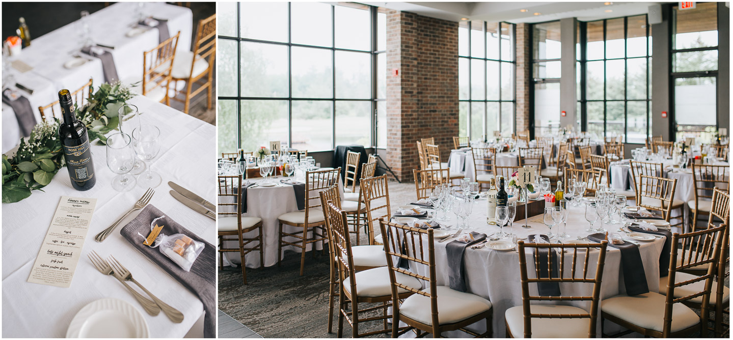 The Manor Kettleby wedding reception
