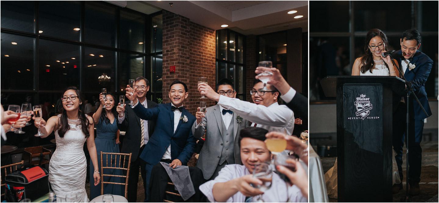 The Manor PeterandPaul wedding reception