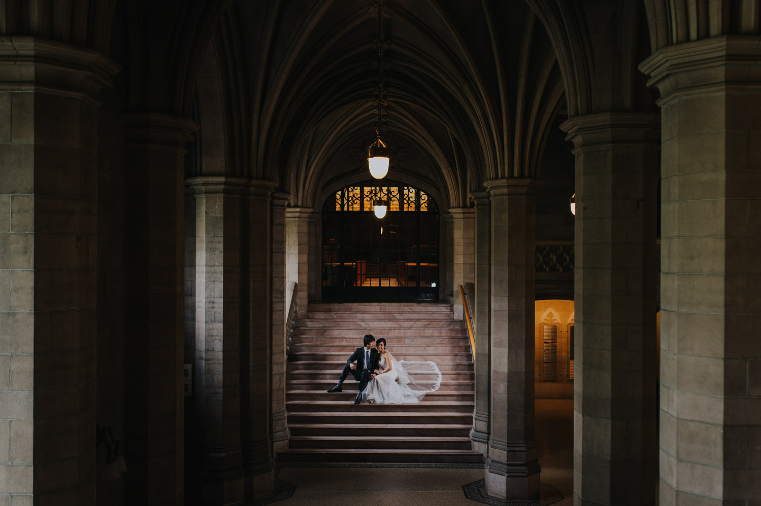 Wedding Photos at Knox College, University of Toronto