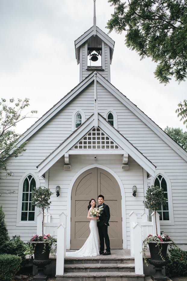 Doctor's House Wedding Photo