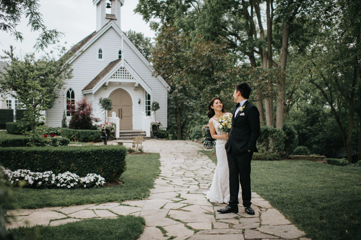 Doctor's House Wedding in Kleinburg