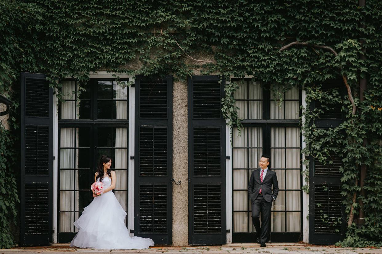 Glendon College Wedding Photo