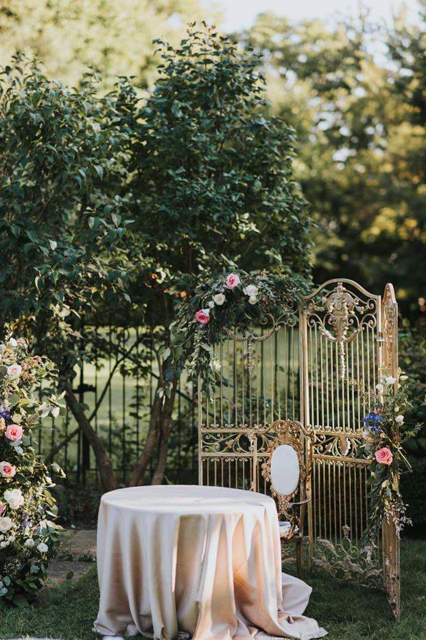 Graydon Hall Toronto Wedding Ceremony Setup