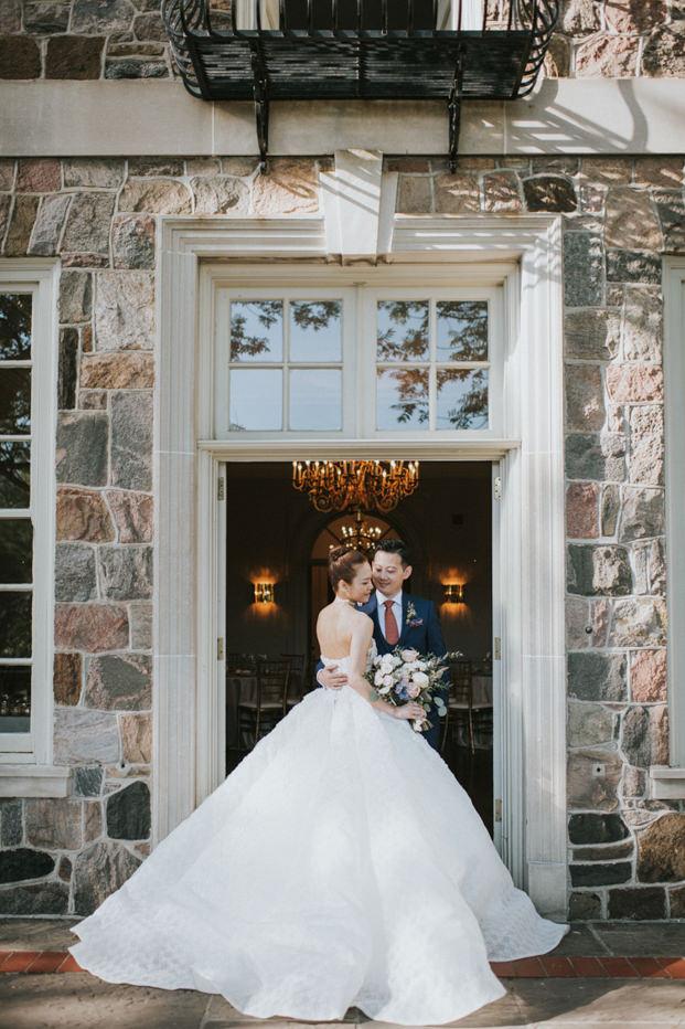 Graydon Hall Toronto Wedding Bride and Groom photo