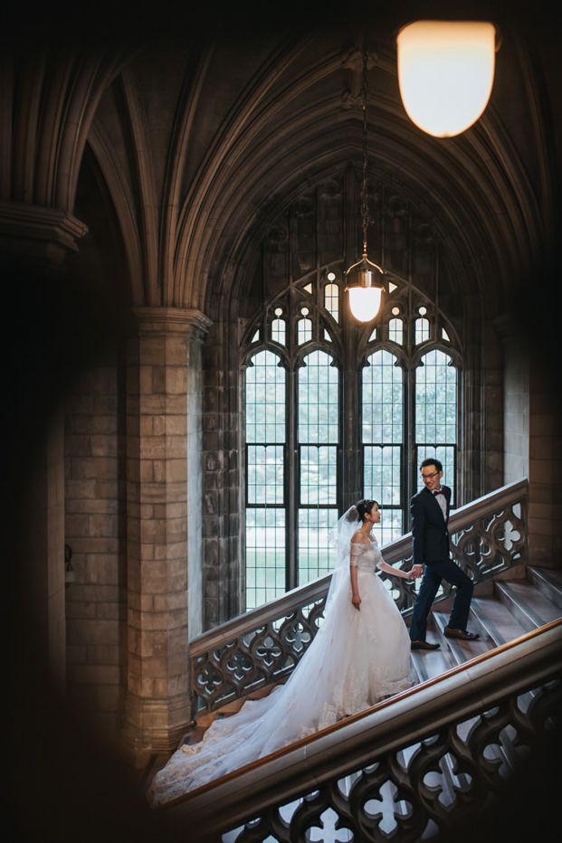 Knox College Pre Wedding Photo indoor