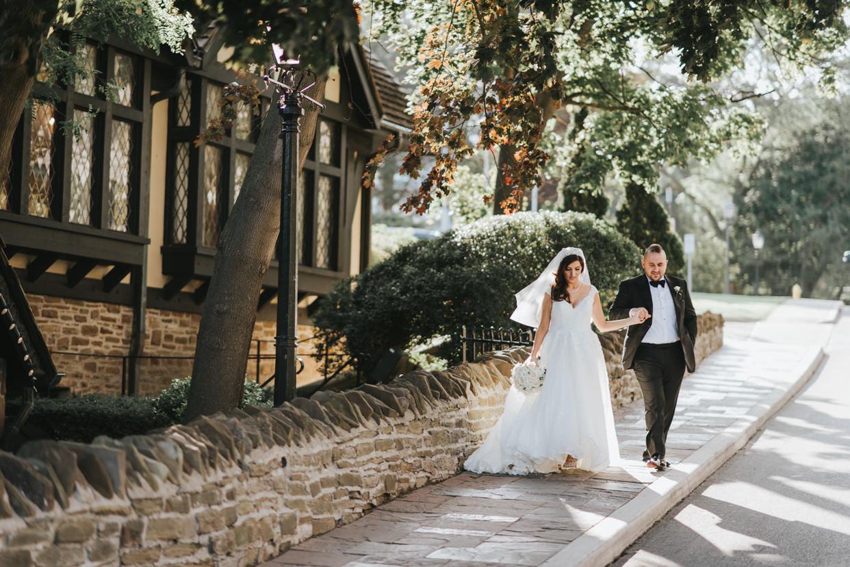 Toronto Old Mill Wedding Photo