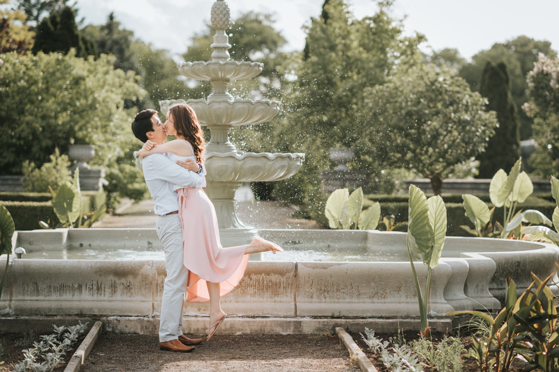 Royal Botanical Gardens Engagement Photo at Hendrie Park