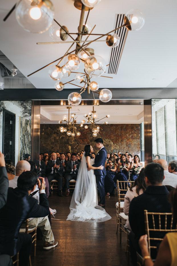 Toronto Canoe Restaurant Wedding Ceremony