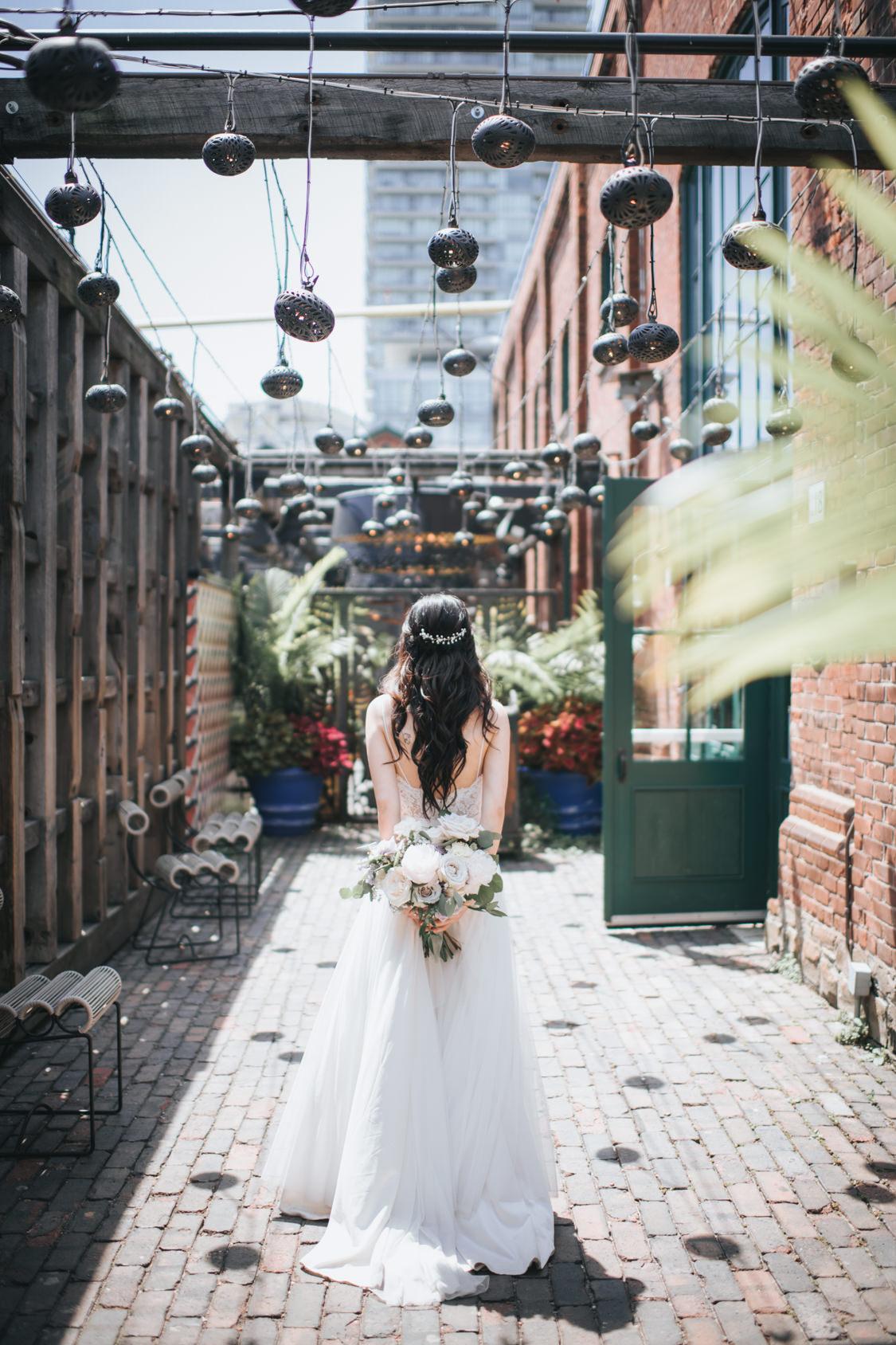 Toronto Distillery District Wedding The Loft