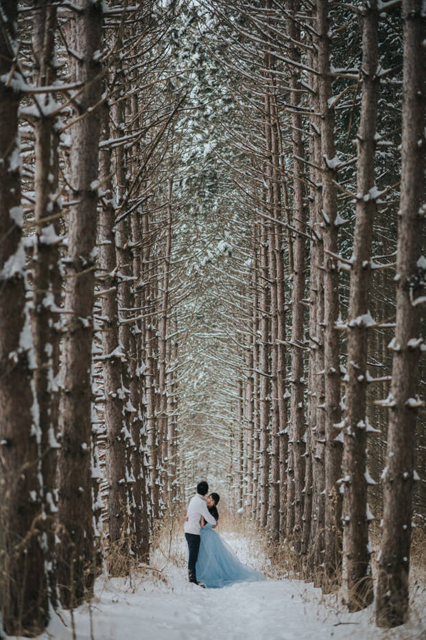 Toronto Winter Engagement Session