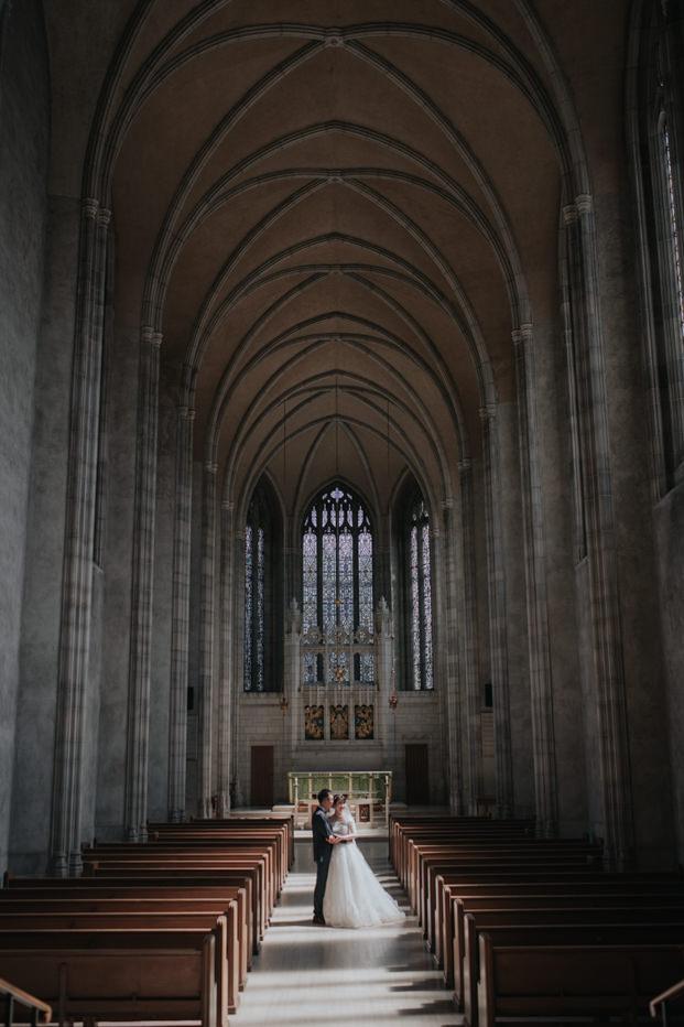 Trinity College Chapel Wedding