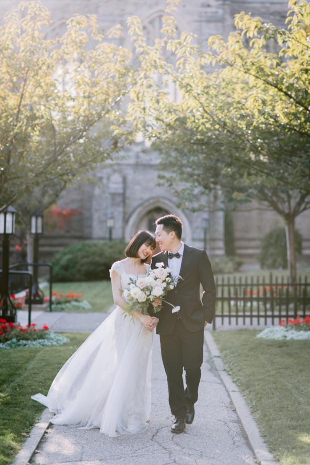 Trinity College University of Toronto Wedding