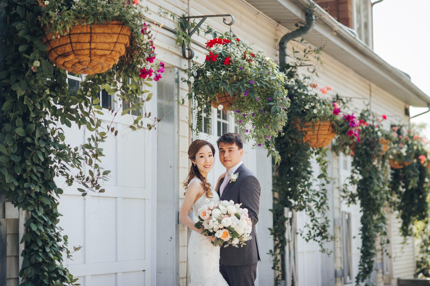 Portraits at Edwards Garden Wedding Photography