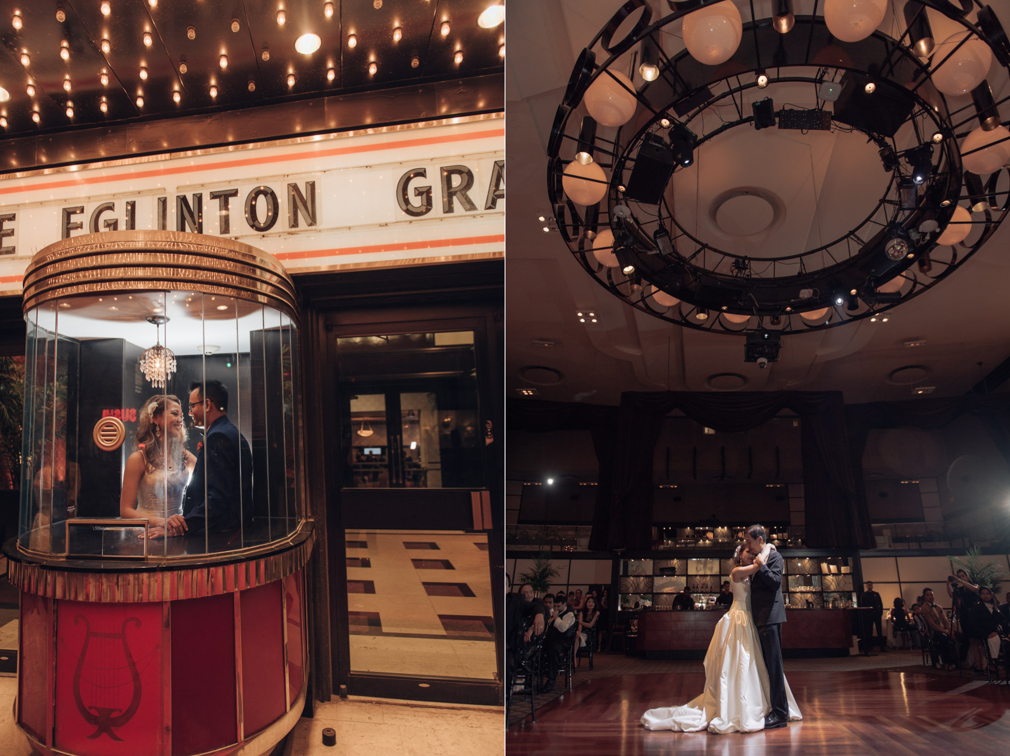 Eglington Grand Theatre Wedding Toronto