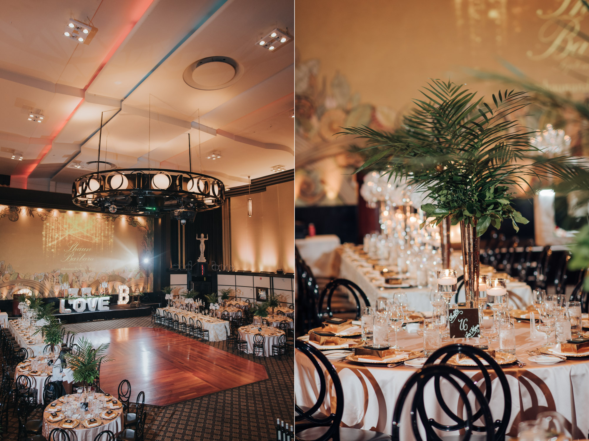 Eglinton Grand Wedding decor