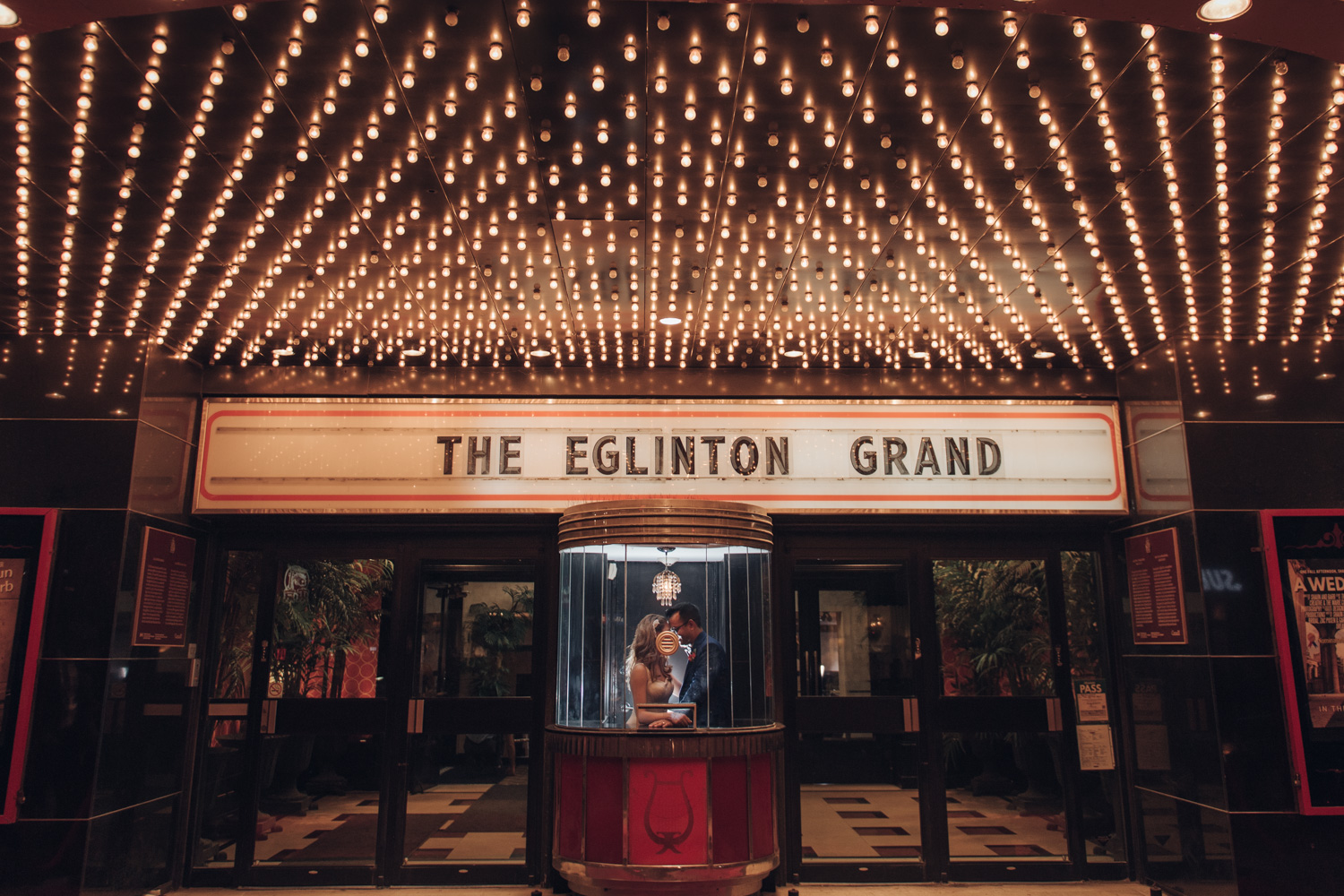 Eglinton Grand Wedding Photo in Toronto