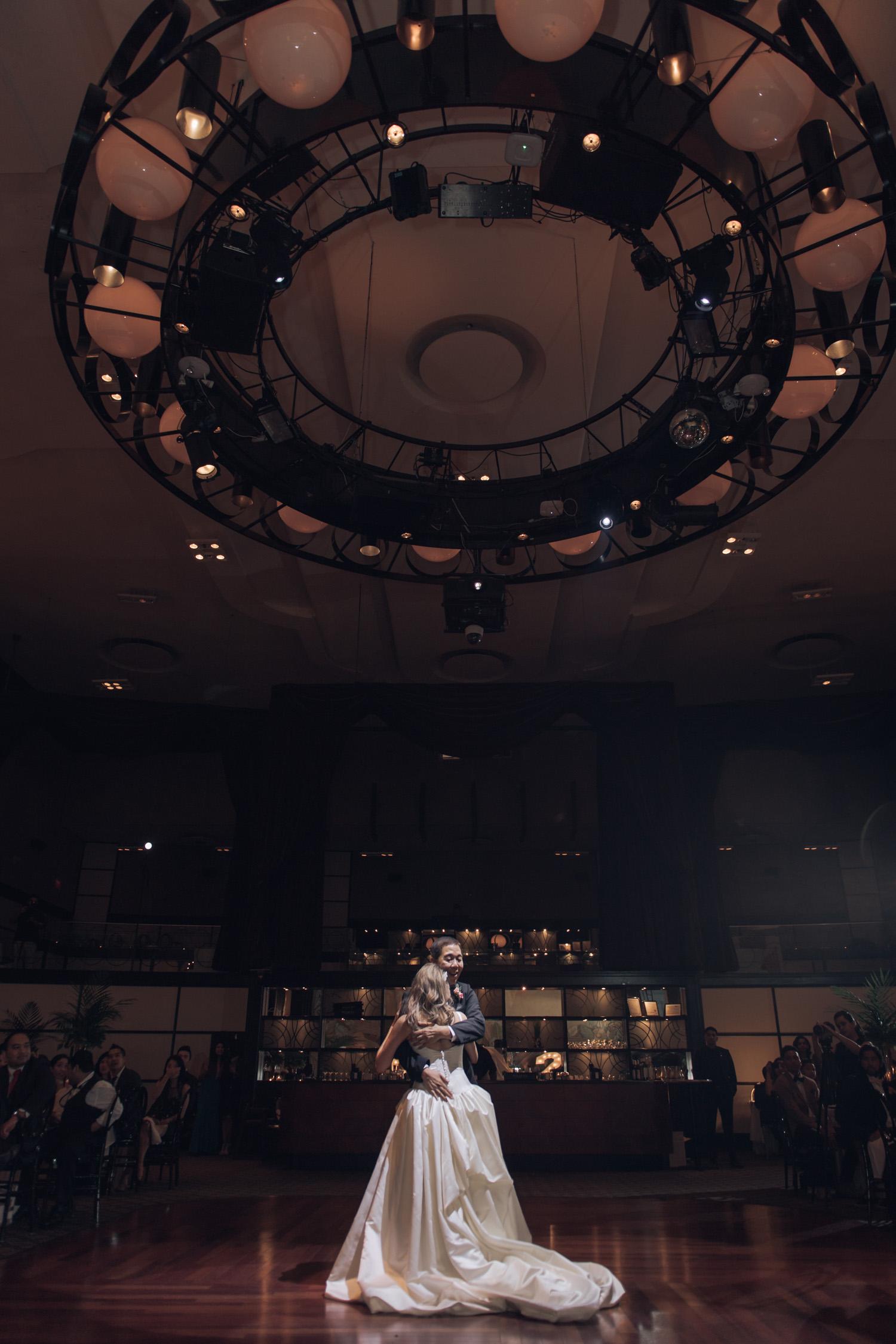 Father of Bride Dance at Toronto Eglinton Grand Wedding