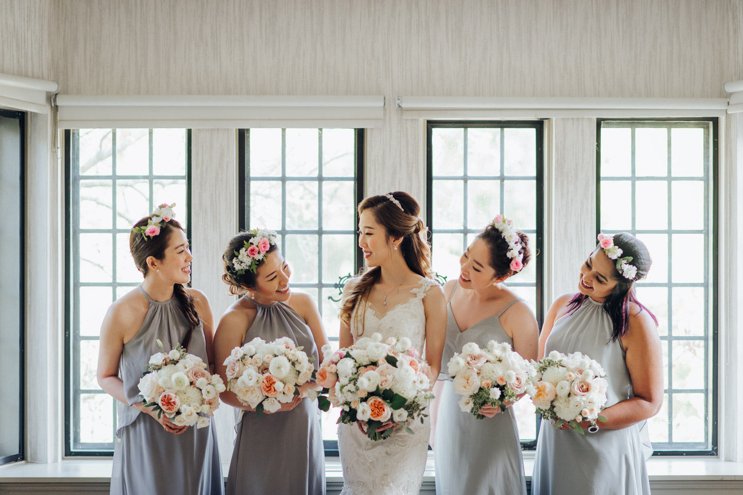 Bridal party photo Getting Ready at the Estates of Sunnybrook Vaughan Estate