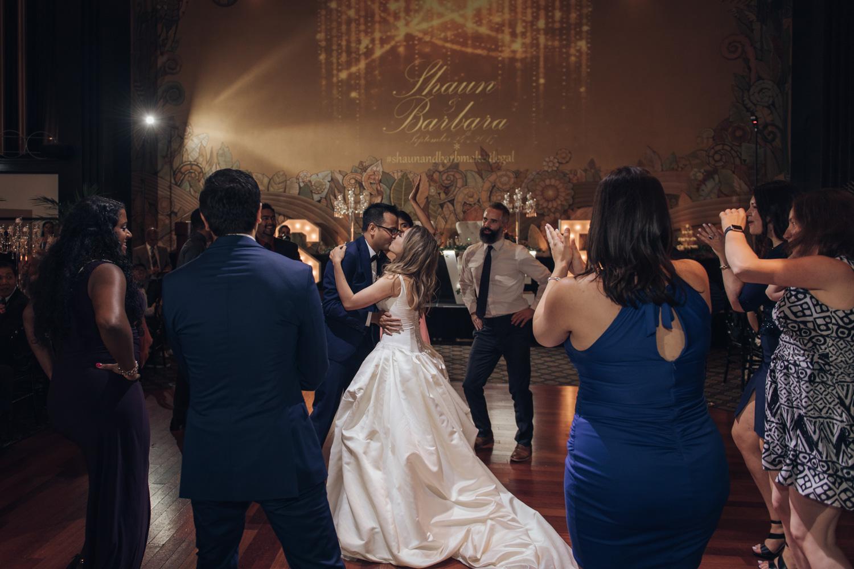 Wedding Reception Dance Party at Toronto Eglinton Grand Wedding