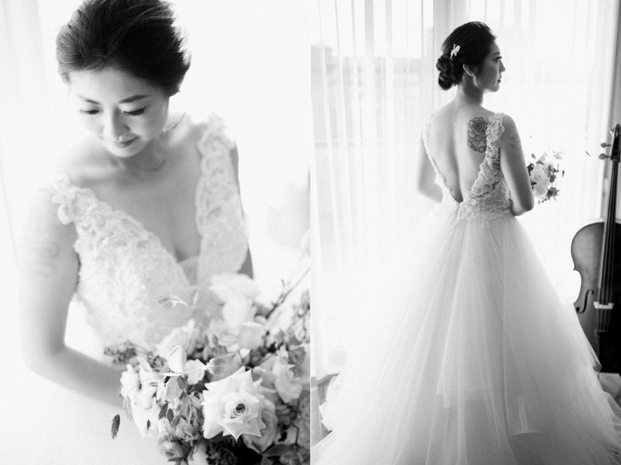 Toronto Colette grand cafe Wedding Bridal Portrait