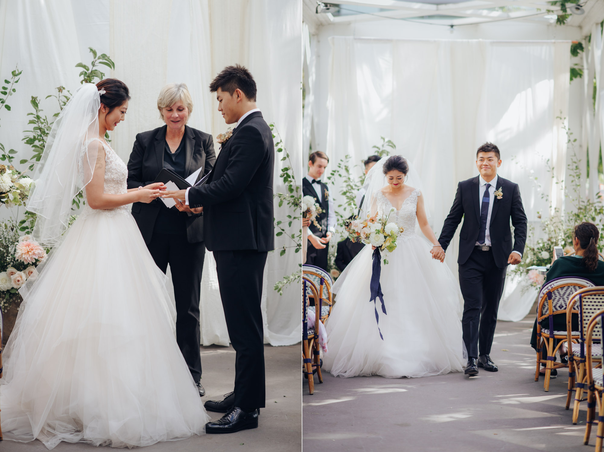 Toronto Colette grand cafe Wedding Ceremony