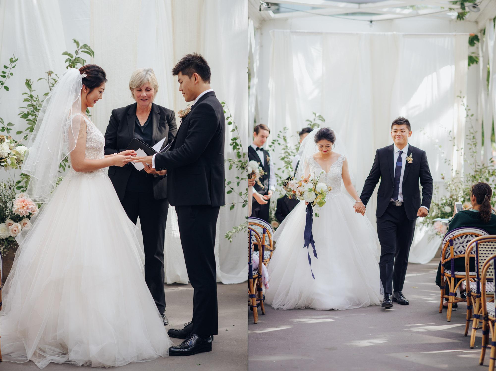 Toronto Colette grand cafe Wedding Ceremony