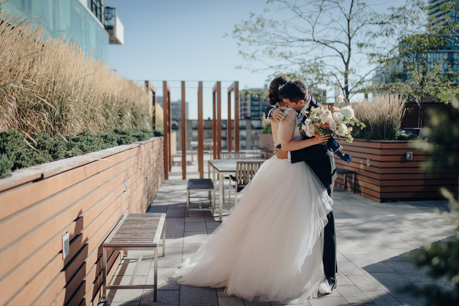 Toronto Colette grand cafe Wedding First Reveal