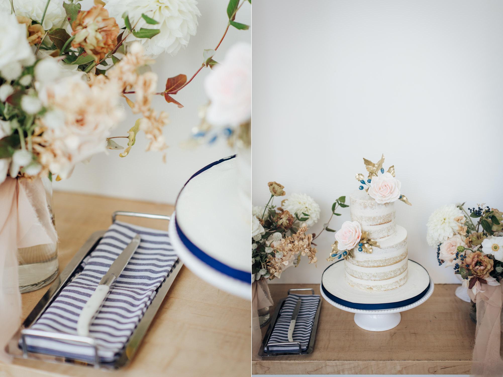 Toronto Colette grand cafe Wedding Reception Cake design