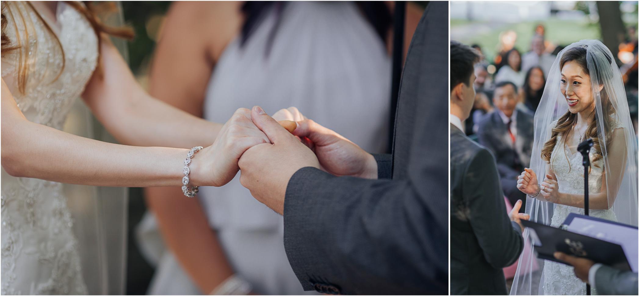 Wedding Ceremony Estates of Sunnybrook Wedding Vaughan Estate