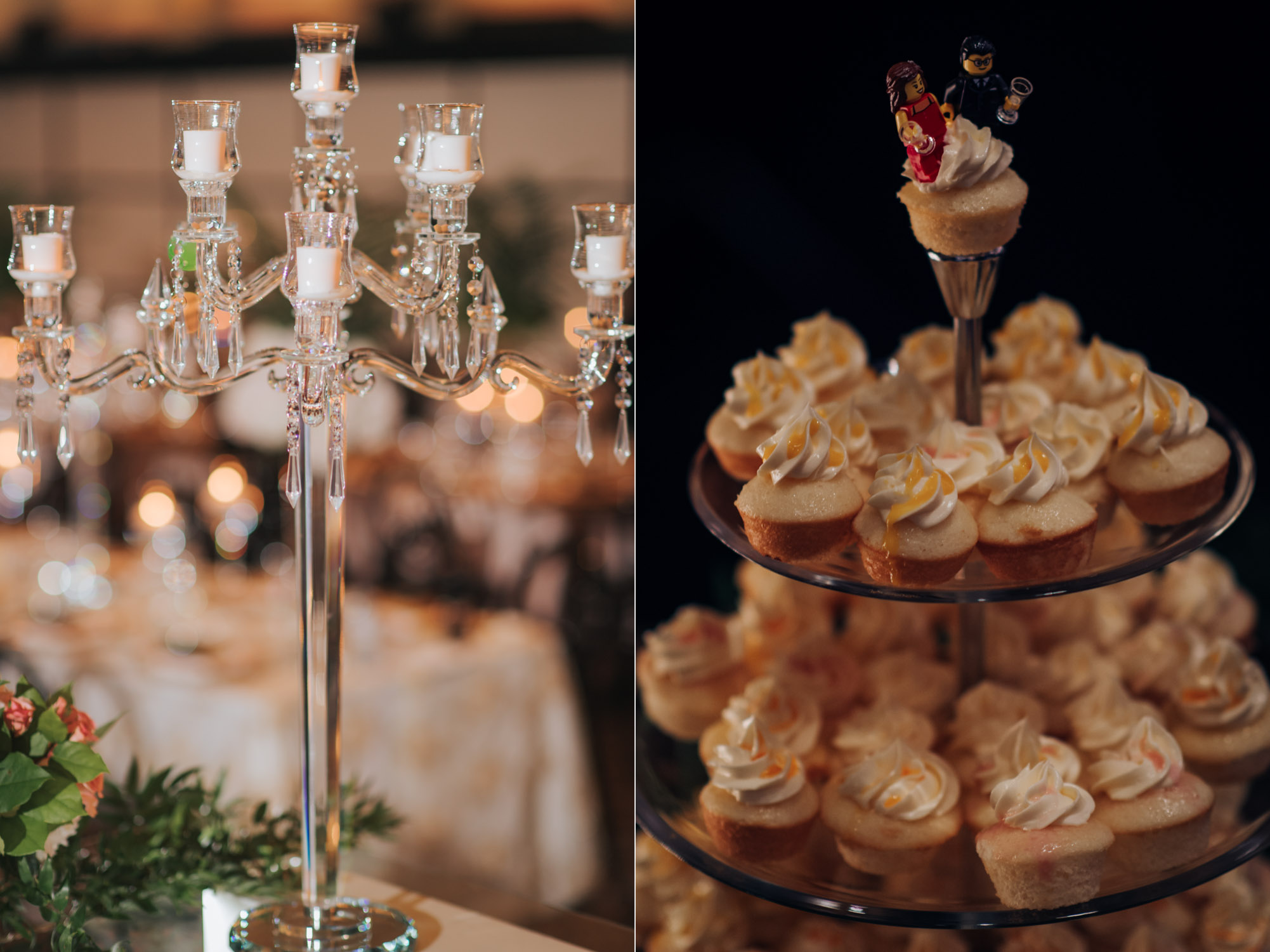 Wedding decor details at the Eglinton Grand Toronto