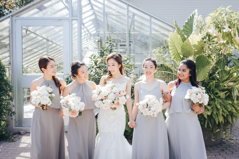 Wedding Edwards Garden Photo Bridal Party