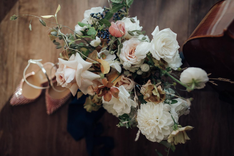 White Oak Flowers Co Bouquet Toronto Wedding