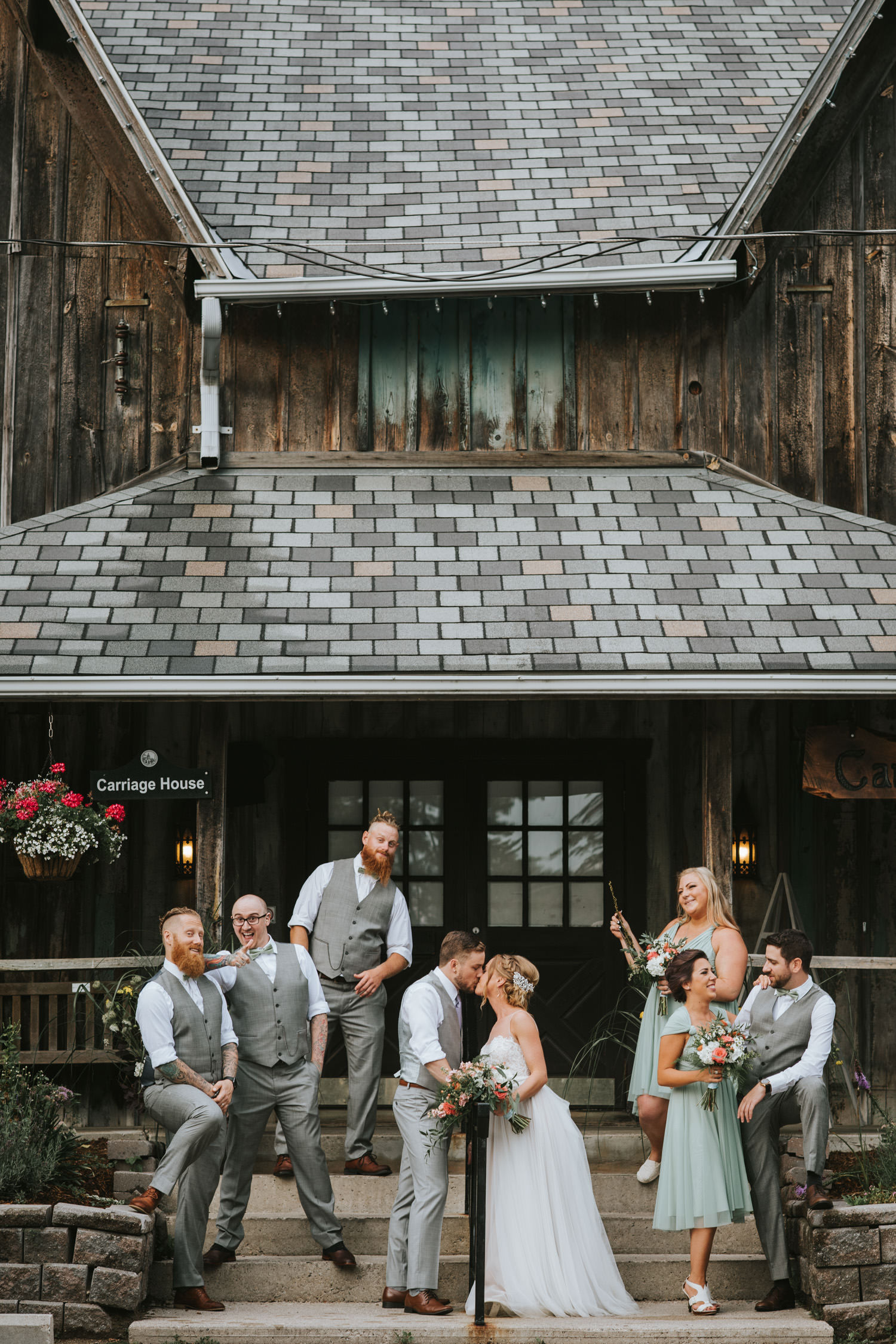 Elm Hurst Inn Carriage House Wedding