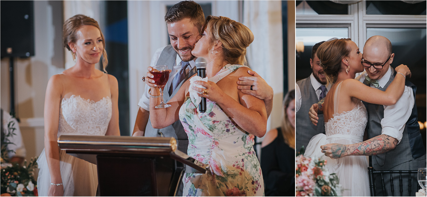 Elm Hurst Inn Wedding Reception speech