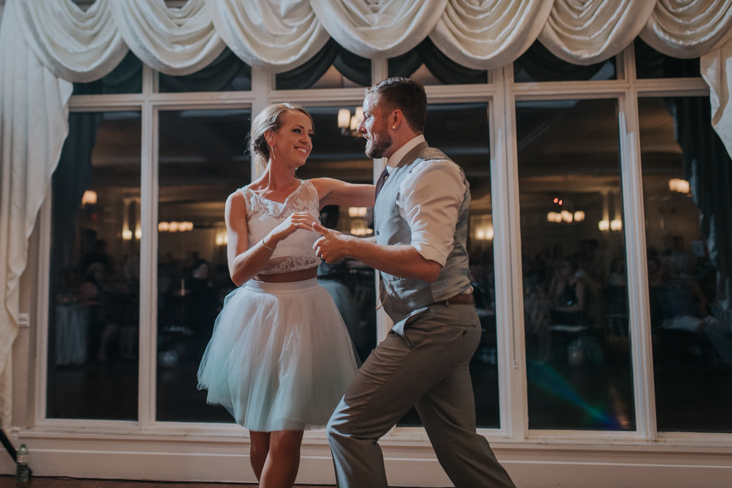 Elm Hurst Inn Wedding Reception Dance to the night