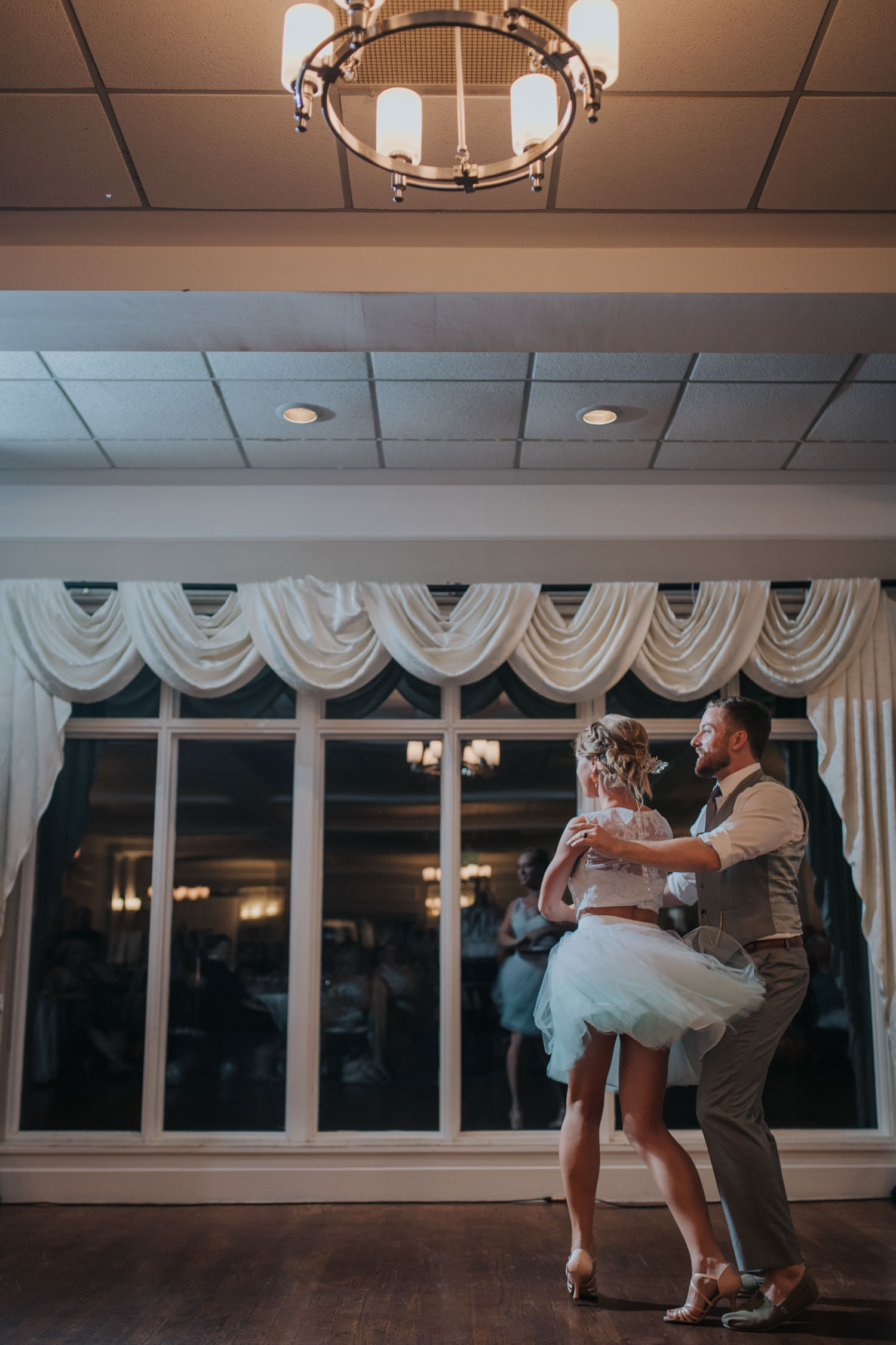 Elm Hurst Inn Weddinng Reception First Dance