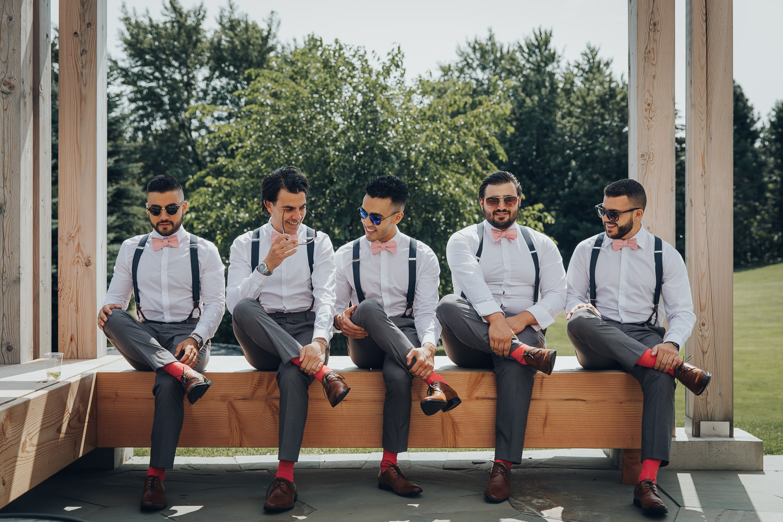 GTA Wedding Photographer Groomsmen photos